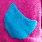 Kapuzenpullover aus Fleece