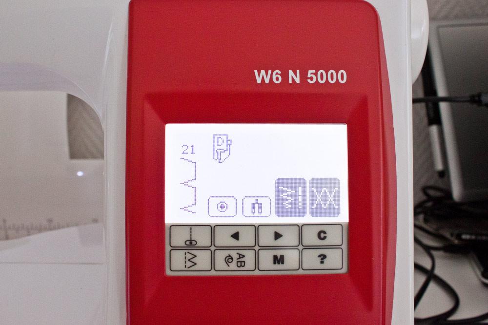 Stichauswahl auf der W6 N5000