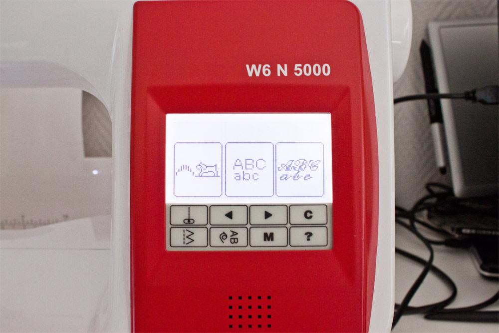 Zierstiche und Alphabete der W6 N5000