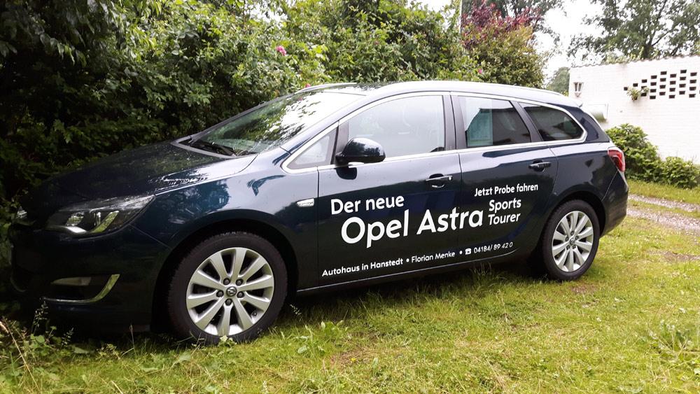 Wochenende in Bildern - Opel Astra
