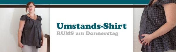 RUMS am Donnerstag Umstands-Shirt